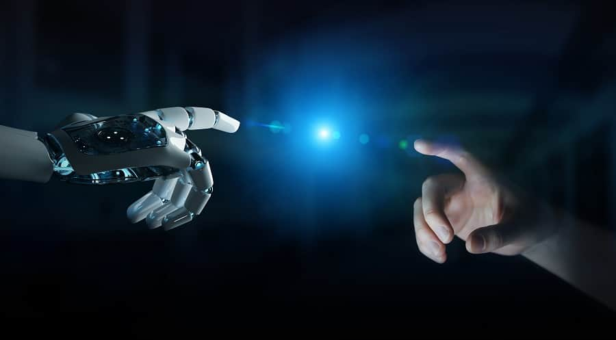 Robots vs humanos