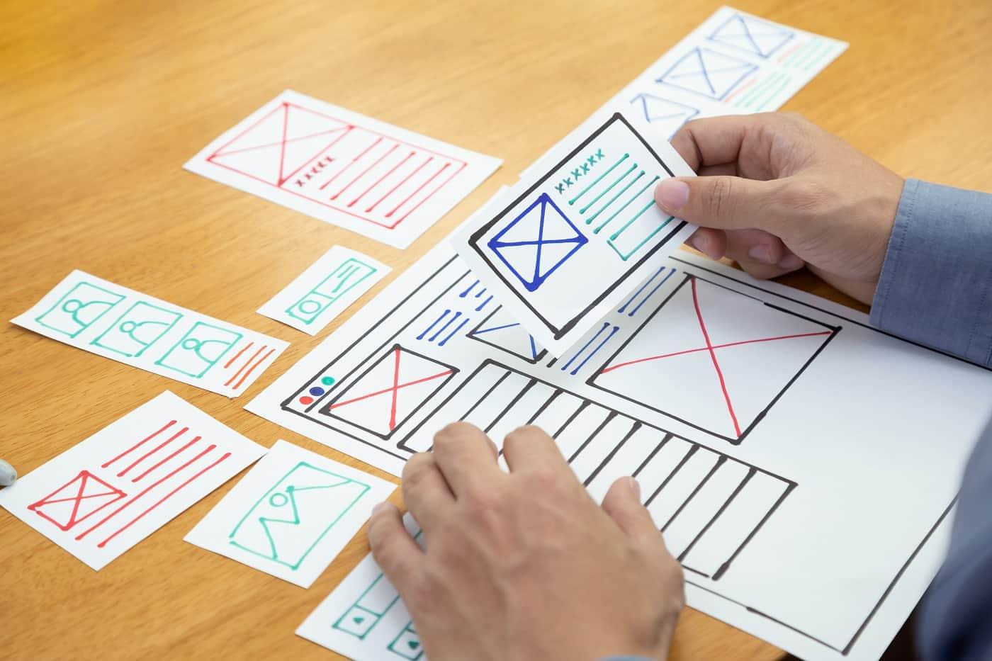 Creando el diseño de una página web en base a la experiencia de usuario