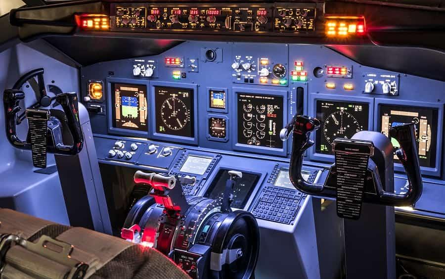 simuladores de aviones