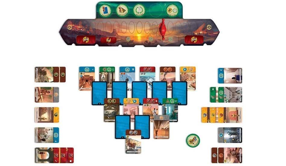 juego de mesa 7 wonders duel